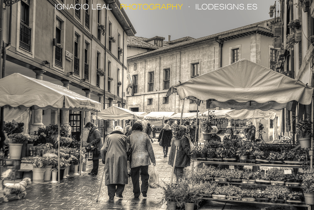 El mercado – the street market